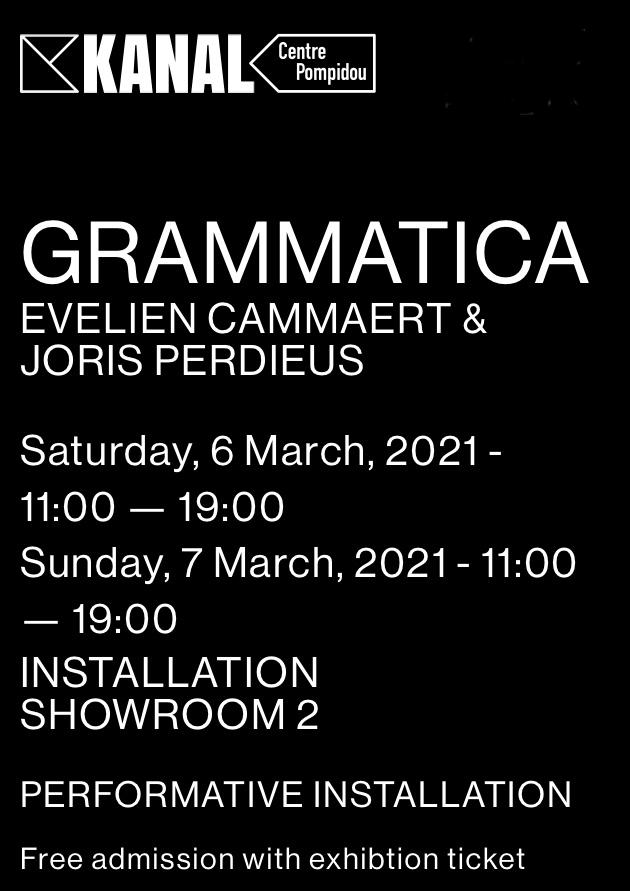 2021-Kanal-Grammatica-Evelien Cammaert-Joris Perdieus
